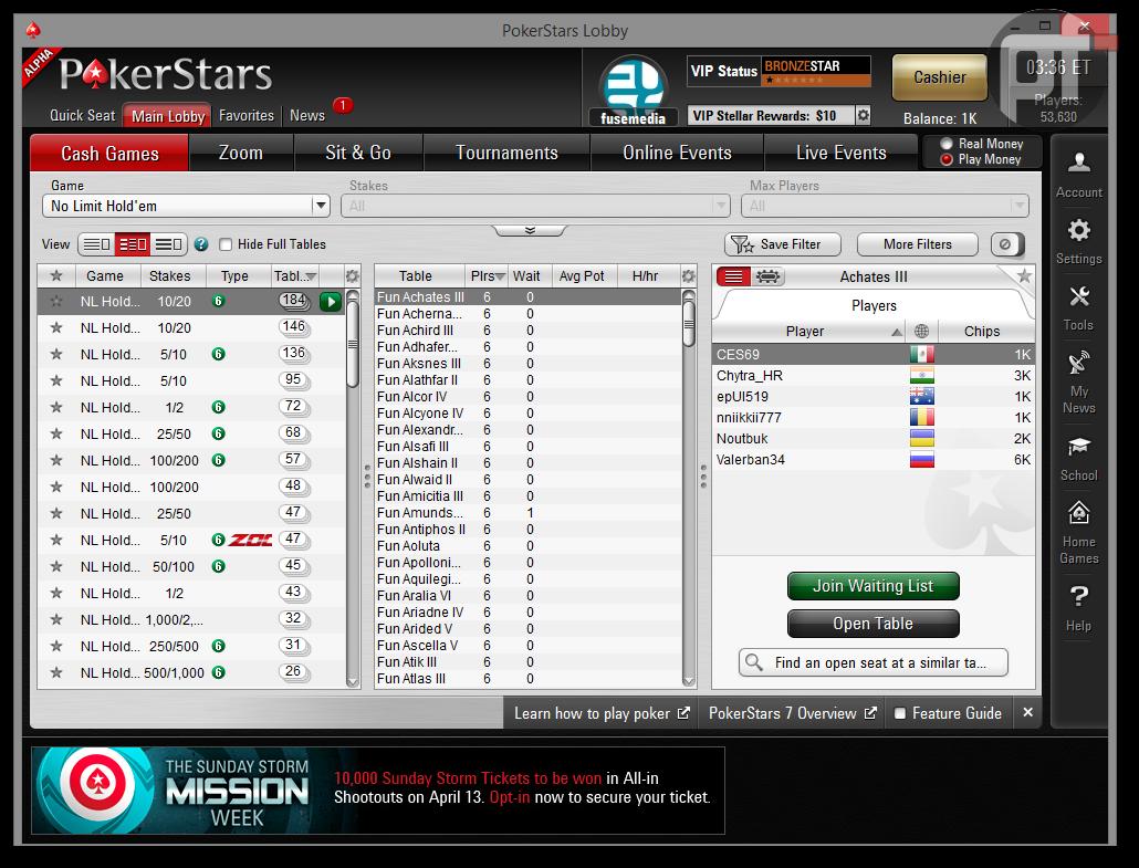 Poker blocking software