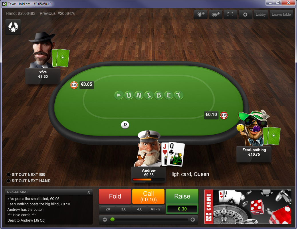 Unibet 39 s radical new online poker room exclusive for 12 seater poker table