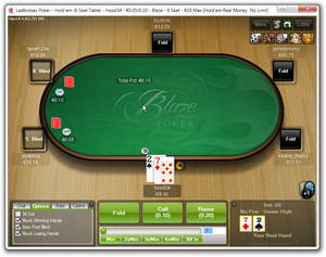 72o good for a steal in Blaze Poker