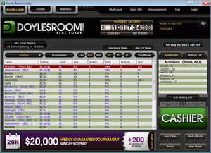 Poker Lobby of DoylesRoom
