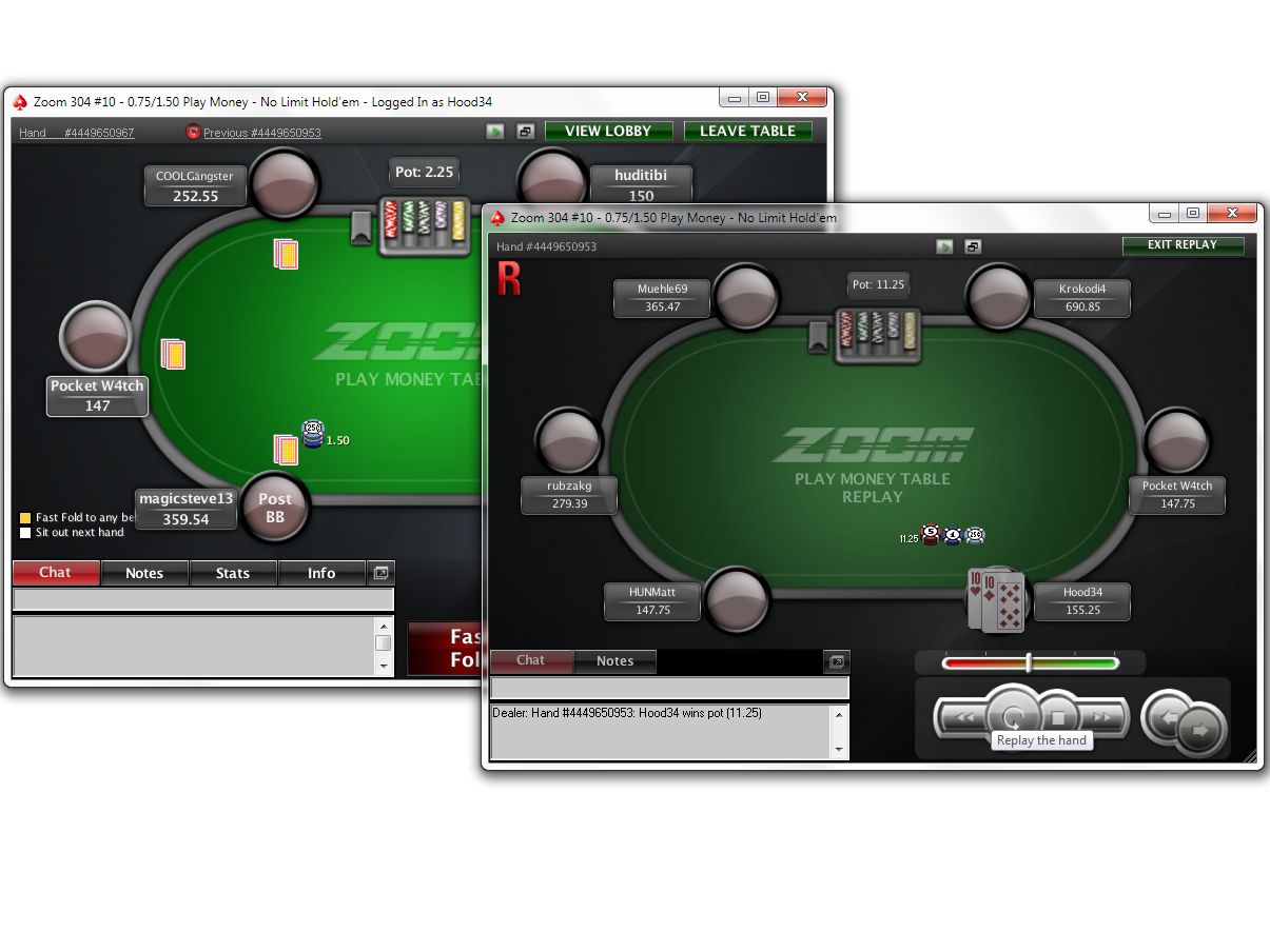 Hands hour zoom poker