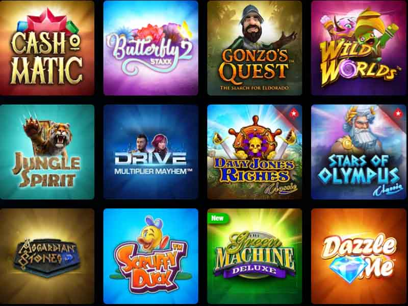 Slots fans will find plenty to keep them going for a while