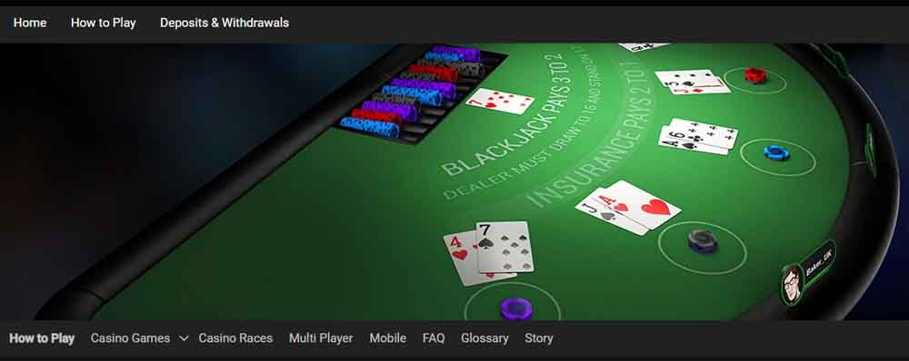 If you are new to gambling PokerStars Casino MI offers helpful tutorials for all games