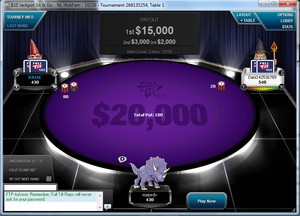 A player wins $15k in a 2000x payout jackpot tournament