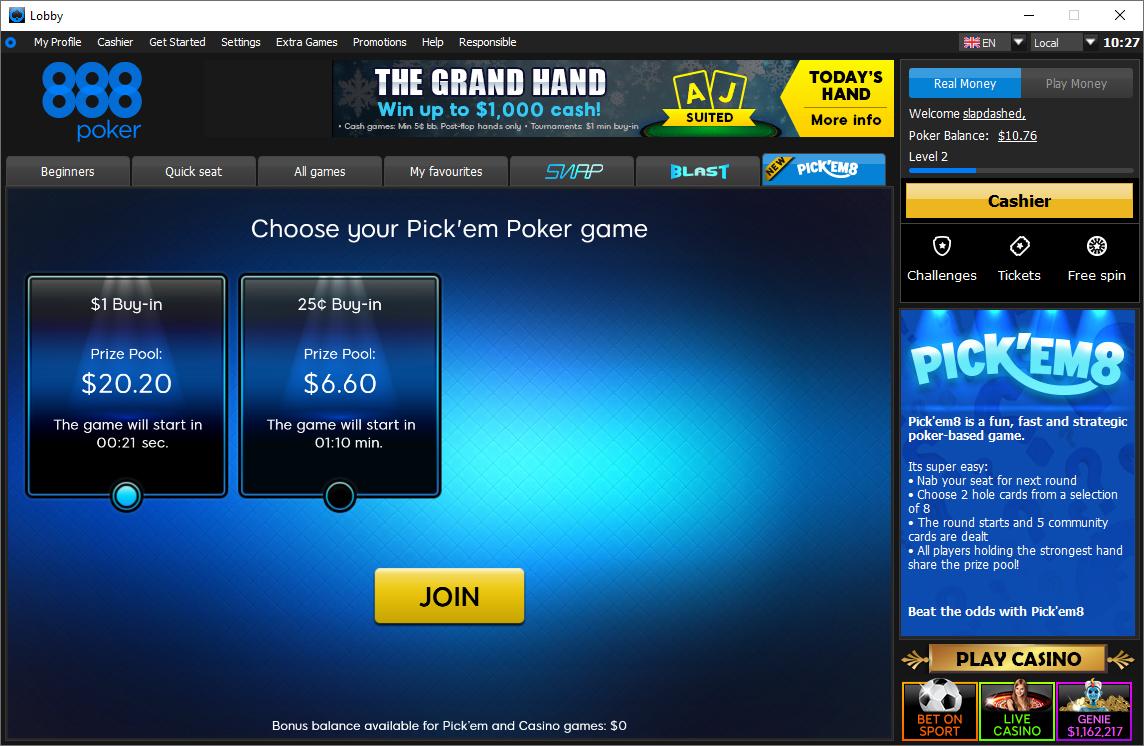 888 S New Strategic Poker Based Game Goes Live For Real Money