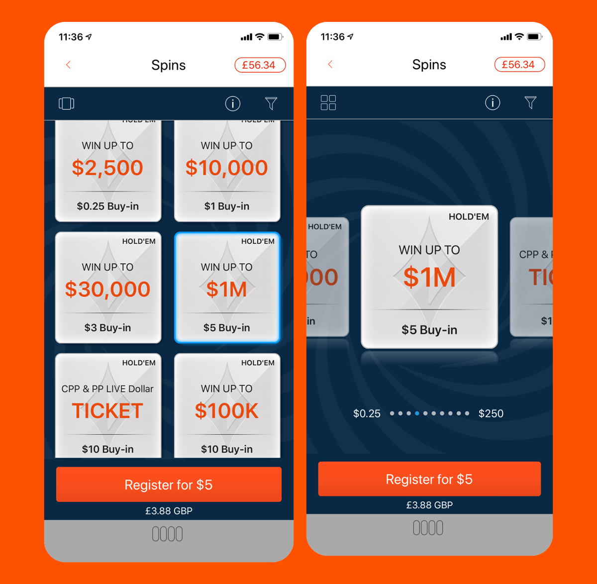 party poker sports betting app