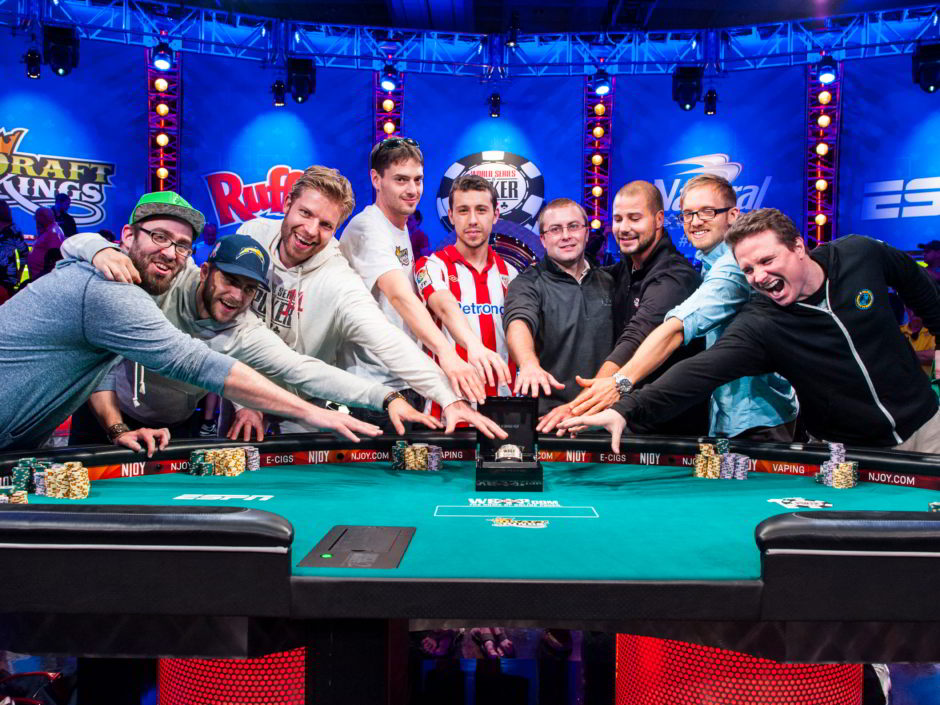 The 2014 WSOP Main Event is down to the final nine. Mark Newhouse has made back to back Main Event final tables for the first time since Dan Harrington in 2003 and 2004.