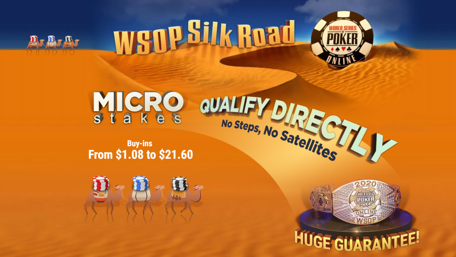 Ggpoker S Micro Stakes Satellite Series Silk Road Provides Huge Value To Players Pokerfuse