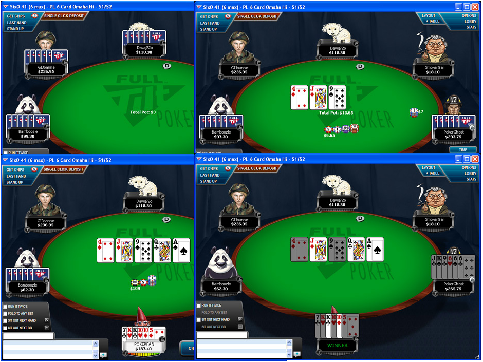 LiveChat poker 99
