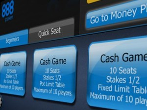 The new 888 poker Android client