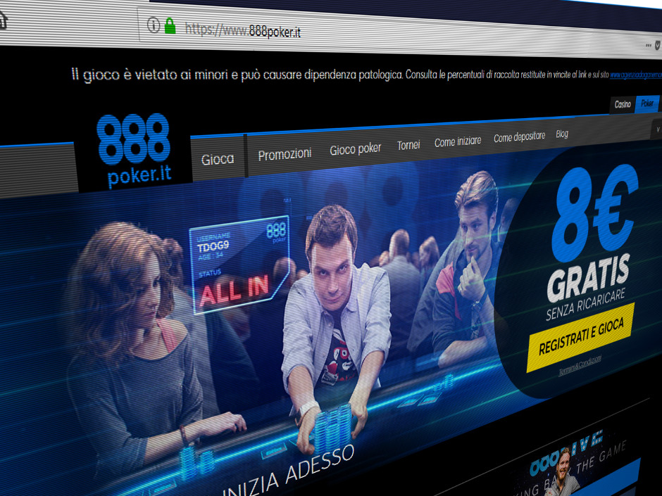 888 Holdings has launched a new online poker room in Italy, complementing its existing casino and betting operations.