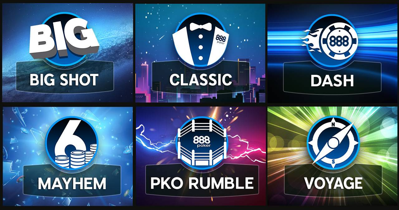888 Unveils New Weekly Tournament Schedule--And is Giving Away $200,000 in Tickets and Seats