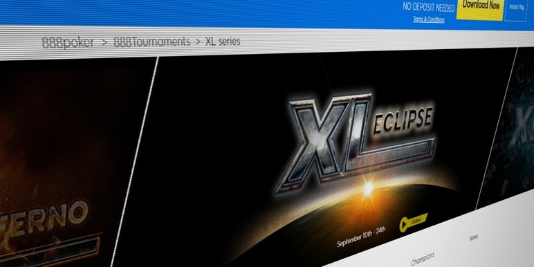 XL Eclipse is the second installment of a new three-part annual tournament series introduced by 888poker this year.