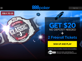888poker and WSOP.com welcome back the New Jersey Poker Classic in February after its debut outing in November 2017. $800,000 is guaranteed over 57 events and…