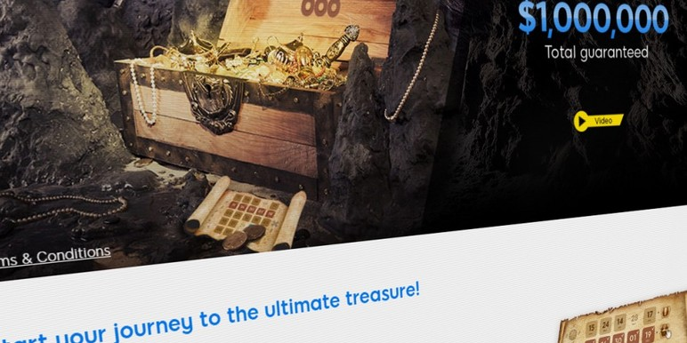 Online poker operator 888 has announced Treasure Quest, a new themed online poker promotion that will give away $1 million over the next two months.