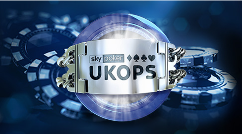 "Sky Poker's ""biggest tournament series of the year."" UKOPS will have buy-ins from £11 to £110 to appeal to a broad spectrum of players."