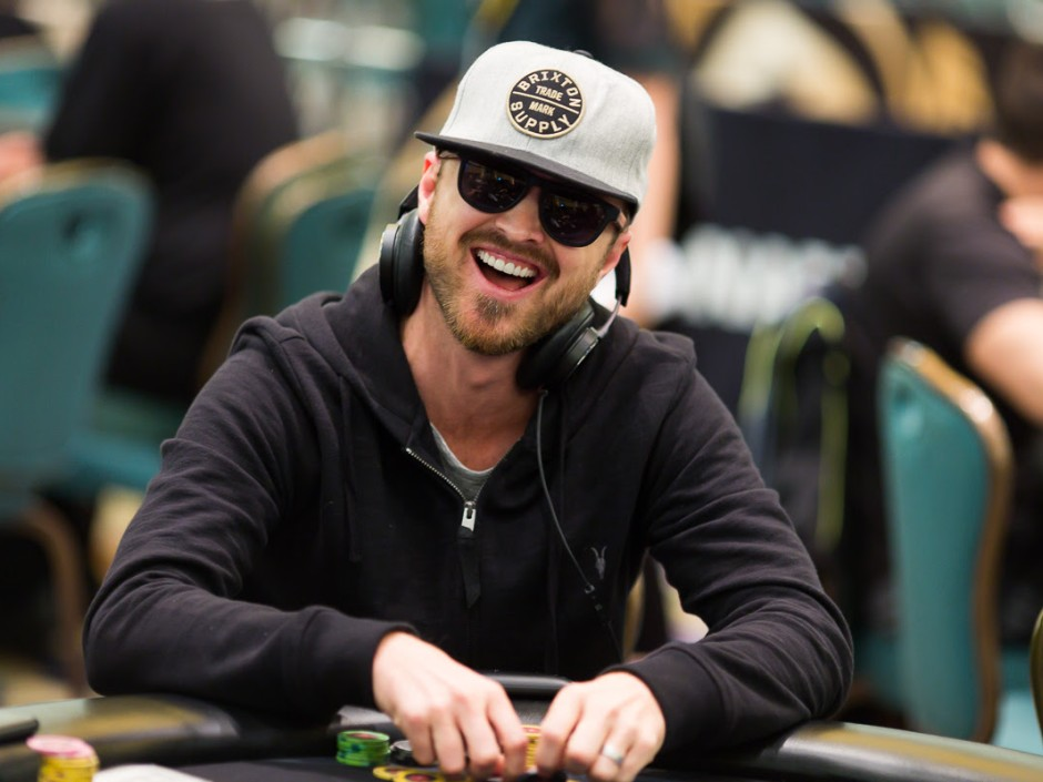 Aaron Paul and Kevin Hart Hit the Bahamas for PokerStars ...