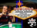 "David ""ODB"" Baker leads the $50k Poker Players Championship with just six players left."