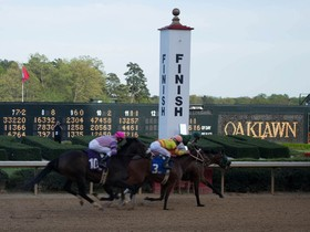 This Saturday is the last chance for 3yr olds to win their way into the Kentucky Derby.   The only 100 derby point race remaining is Saturday's G1 Arkansas…
