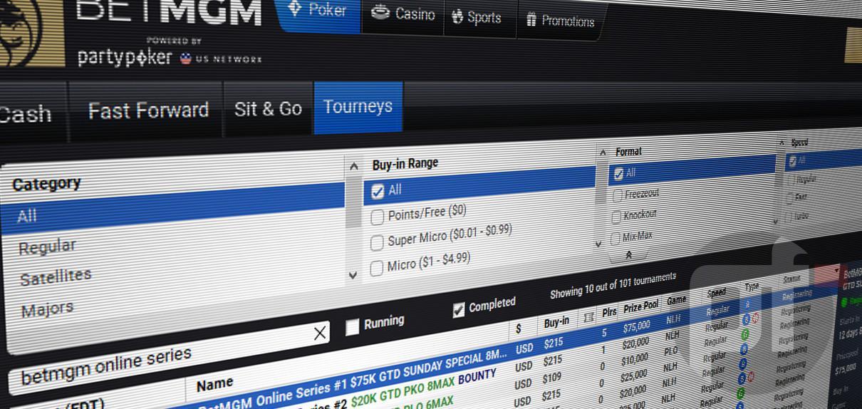 Jadwal Lengkap Seri Poker Online Perdana BetMGM MI di Michigan Terungkap