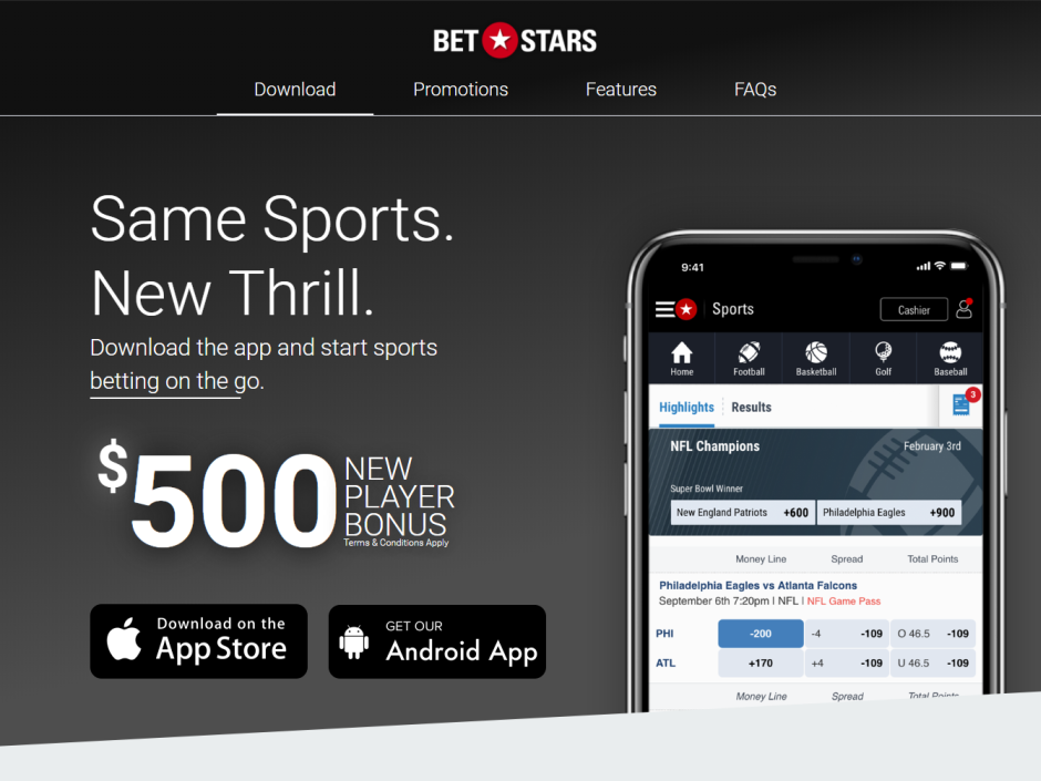BetStars, playMGM and 888sports Apps Now Available on iOS for New Jersey Players