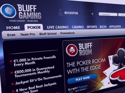 Bluff Gaming Closes Down Requiring Players to Play Through to Cash-Out