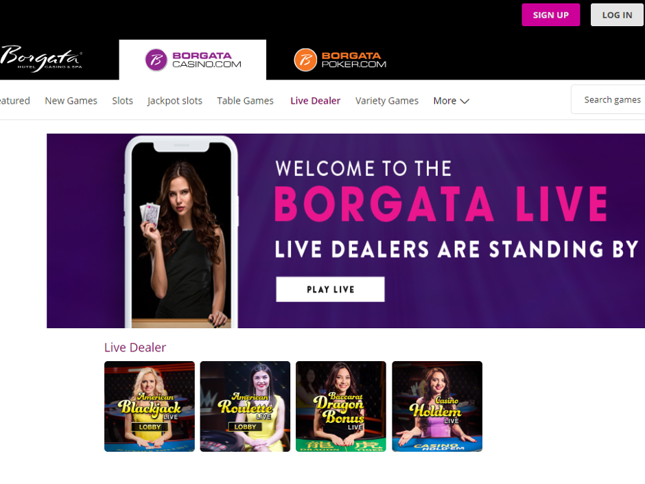 The live dealer online gaming experience is being expanded to the Borgata Casino brand in New Jersey. It was announced that the three online casinos currently…
