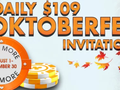 BorgataPoker.com has announced a new promotion for all its New Jersey players. Players who enter the Daily $109 buy-in guaranteed tournaments at 7pm will be…