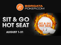 "The Borgata online poker room has announced yet another new promotion called ""Hot Seat"" for its New Jersey players. In this promotion, players who…"