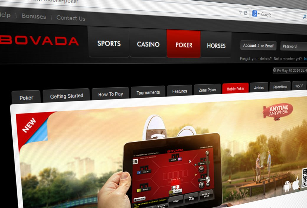 Bovada Blocks New Jersey Online Poker Sign-Ups