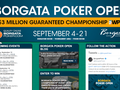 The Borgata Hotel Casino & Spa in Atlantic City, New Jersey is set to host the Borgata Poker Open (BPO) Championship, scheduled to take place from September 16.