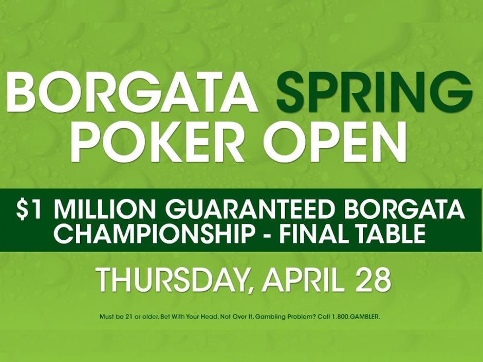 The Borgata Spring Poker Open is winding down, but there is still plenty of time to play for your share of more than a million dollars that will be awarded in…