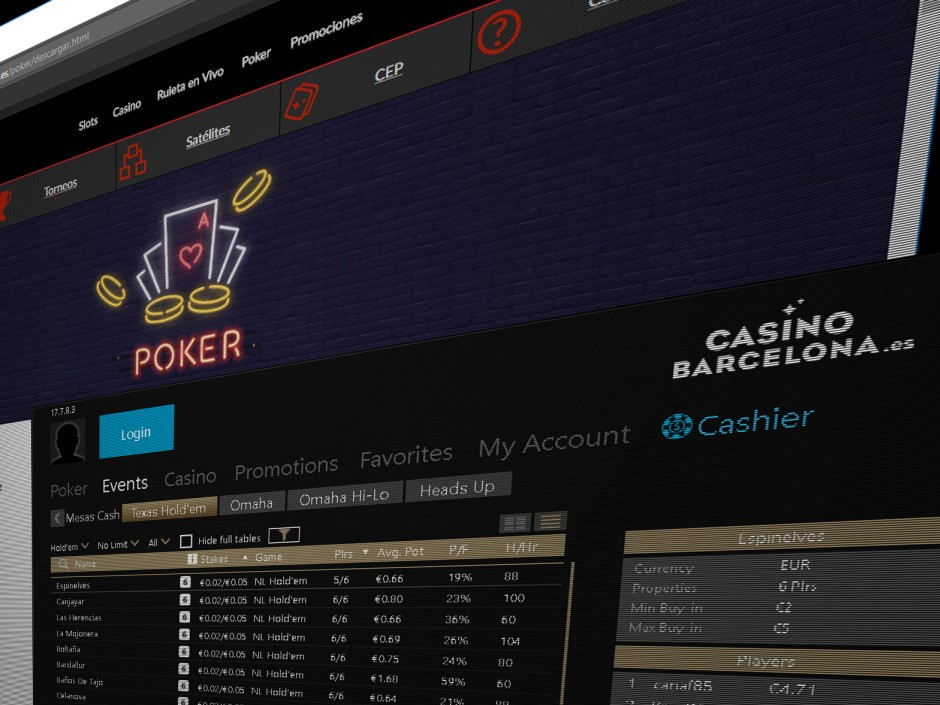 Casino Barcelona has inked a deal with Playtech to launch a poker skin on its Spanish online poker network.