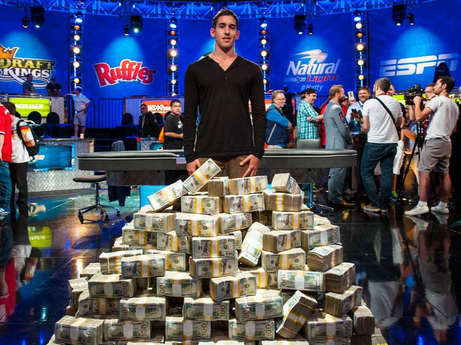 "Daniel ""mrgr33n13"" Colman has won  the second ever $1 million buy in Big One for One Drop. The 23 year old internet pro has taken home $15.3 million."
