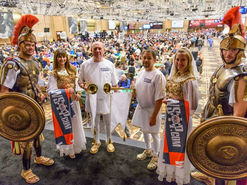 The big news from this weekend's play at the 2015 {WSOP} has to be the record breaking achievements of event #5, The Colossus which recorded 22, 374 entries.
