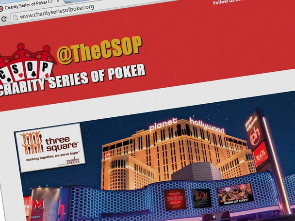 The Charity Series of Poker will hold its first event on Sunday, July 6 at 5:00pm, as part of the Planet Hollywood Phamous Poker Series in Las Vegas.