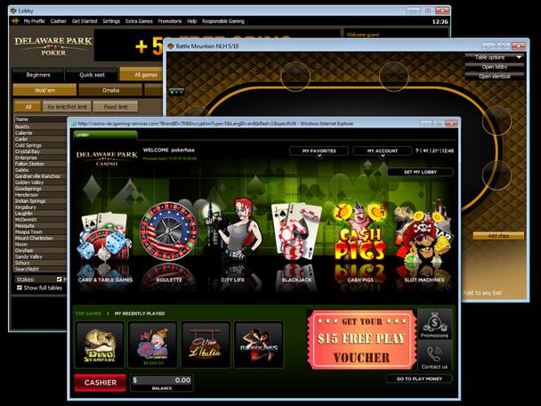 Delaware casino web sites cesars casino atlantic city