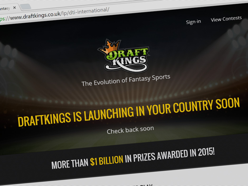 739767cfcbedd DraftKings announced this week their plans to expand internationally with  their successful application of a UK