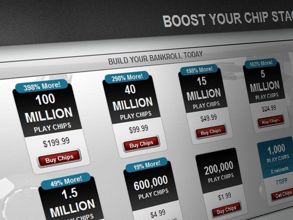 Full Tilt Player Rakes $1 Billion Play Chip Pot