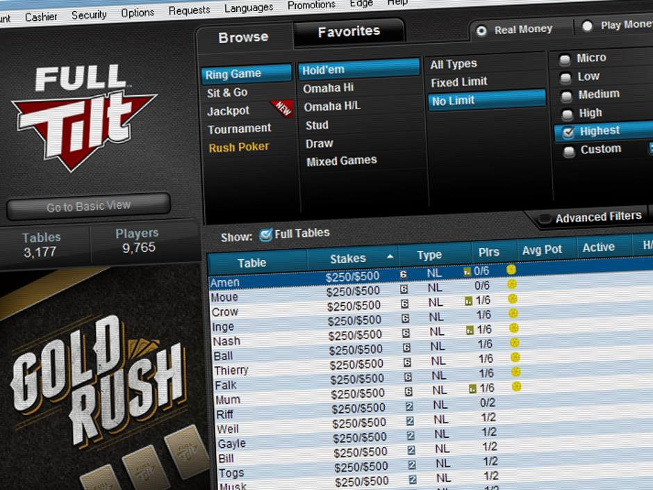 Once famous for the nosebleed stakes of its online poker games, Full Tilt has made some sweeping changes including a reduction in the stakes at its highest…