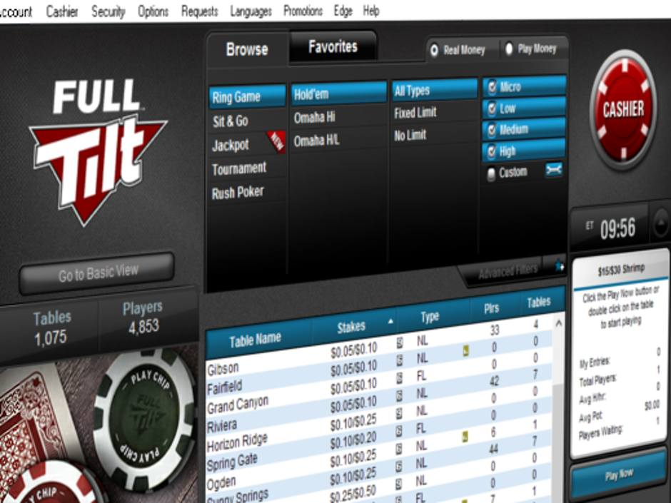 This Sunday, the 29th Full Tilt Online Poker Series will get underway. $1 million in prizes is guaranteed across 46 events spanning three weeks. And it will be…
