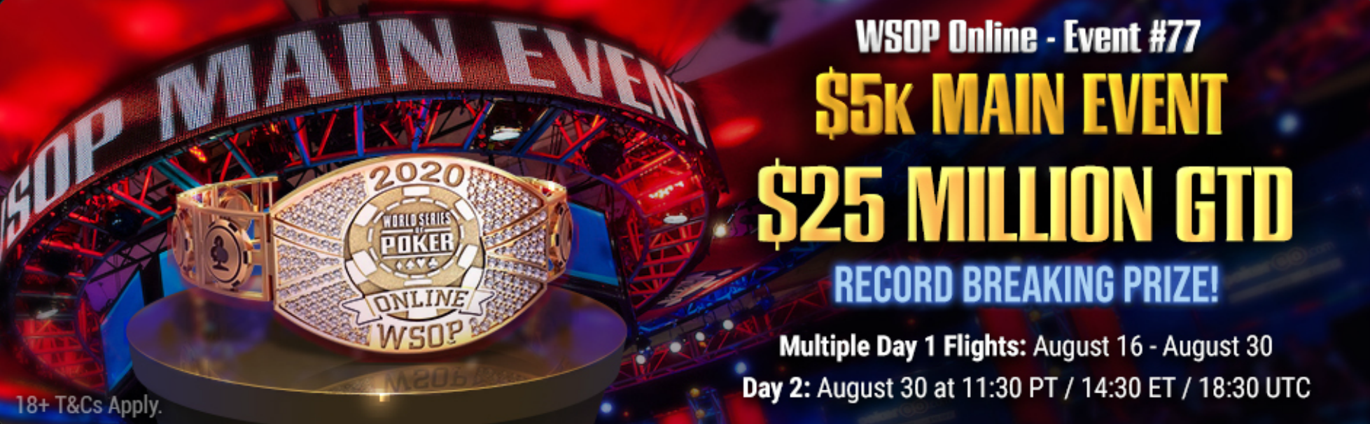 Global poker home series awarding largest online poker prize pool