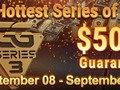 Taking place from September 8 for three weeks, GGS3 guarantees $50 million across 482 events. This makes it one of the largest online tournament festivals of the year, putting it almost on the same level as WCOOP.