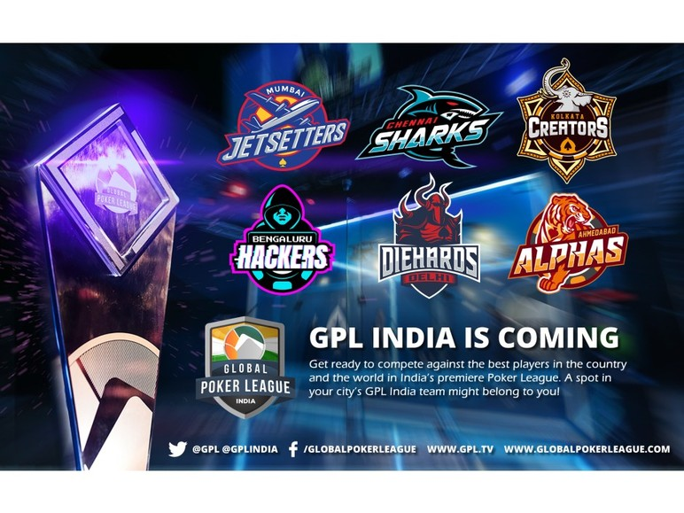 Global Poker League, a team-based poker competition, is set to enter the Indian market with the launch of GPL India.