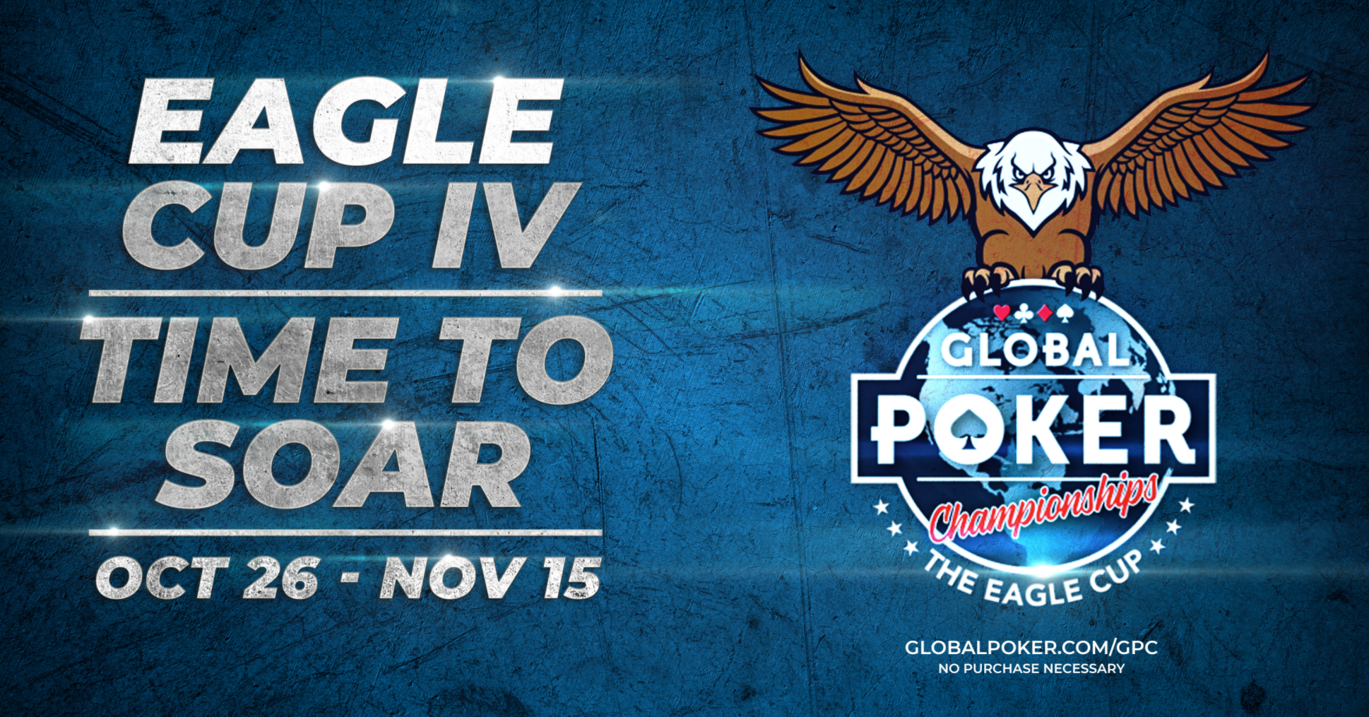 Eagle Cup IV Kicks Off on Global Poker with Over 1.2 Million in Guaranteed Sweeps Coin Prizes