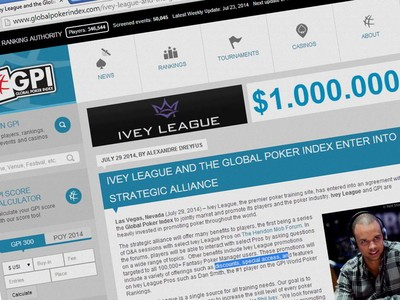 The Ivey League plans to make its massive stable of Team Pros, including the current #1 GPI ranked player Dan Smith, available for interactive question and answer sessions on the online forums of The Hendon Mob.