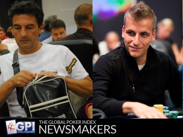A summary of the recent accomplishments of players ranked on the Global Poker Index.