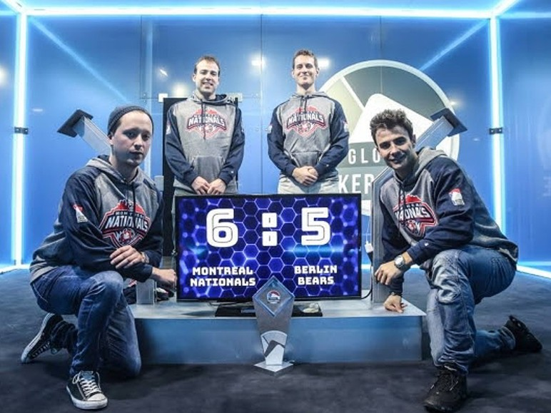 The Montreal nationals are the first Champions of the Global Poker League after defeating the Berlin Bears 6-5 in an epic best of 11 match series.