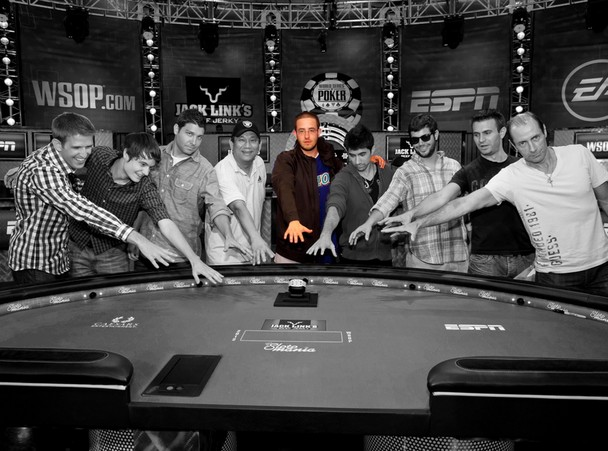 2012 World Series of Poker Main Event Final Table member Greg Merson