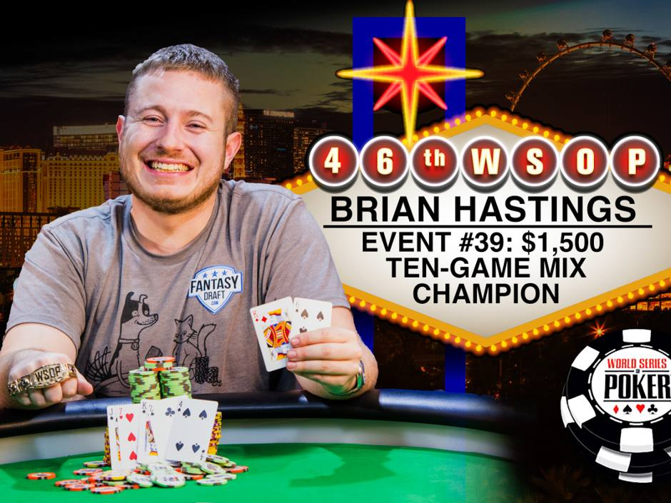 Max Pescatori also became a repeat bracelet winner in 2015 as the weekend saw a total of seven bracelets awarded.